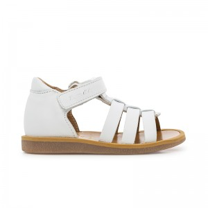 Sandale Poppy Strap blanc