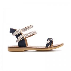 Sandale Wowo Navy/Bronze