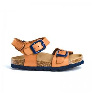 Sandales Cesar 20 Camel/bleu