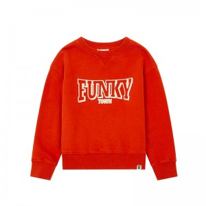 Sweatshirt Funky Town Orange