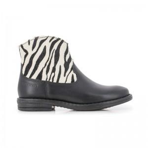 Boots Billy Zebra Noir/Blanc