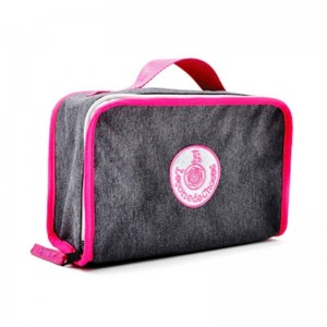 Lunch Box gris/rose