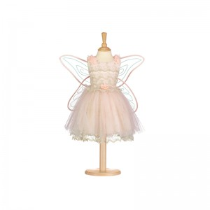 Vintage fairy with wings,...