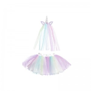 Tutu set unicorn, M/L