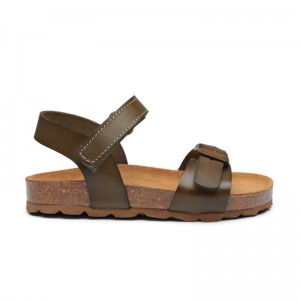 Bio Cork Sandal Light Olive
