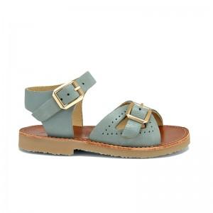 Sandale Pearl Leather Smokey