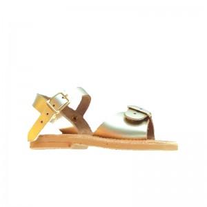 Sandale Grecque Egee Doré
