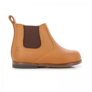 Boots Clotaire Zeus Zip Camel