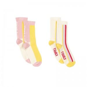 Pack of 2 Socks Cheesy...