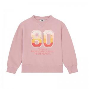 Sweatshirt 80'S Powder Pink