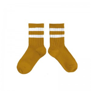 Chaussettes Nico Moutarde...